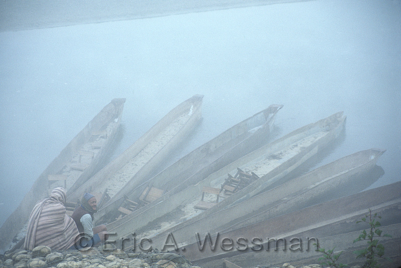 Boats in Morning Mist
