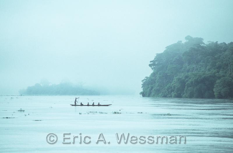 Boat in Morning Mist