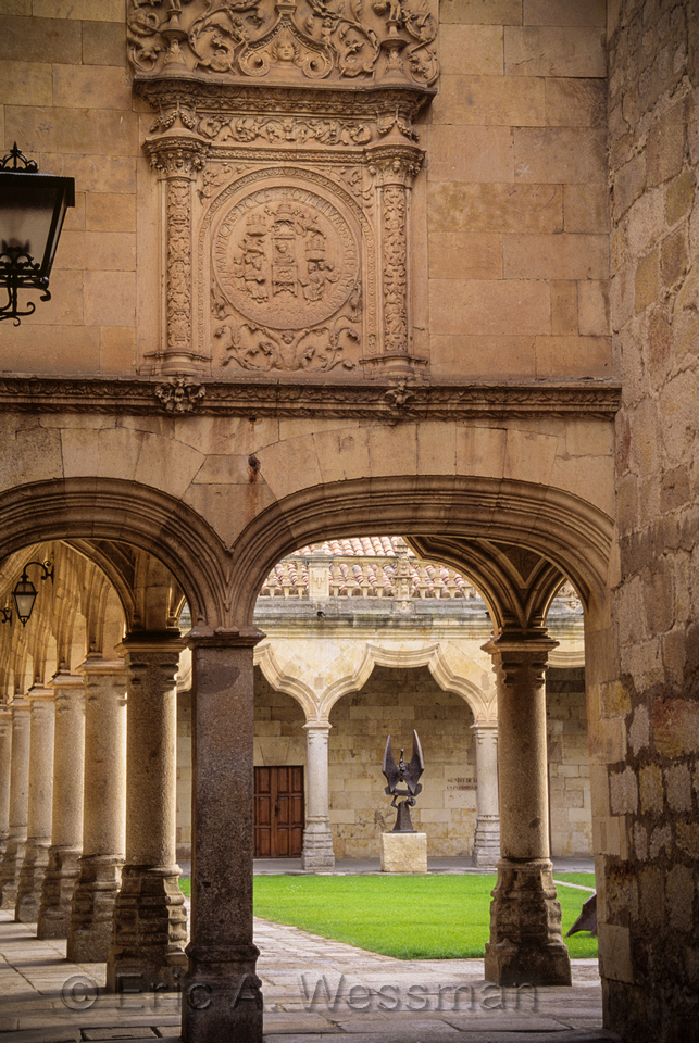 Arches and Courtyard