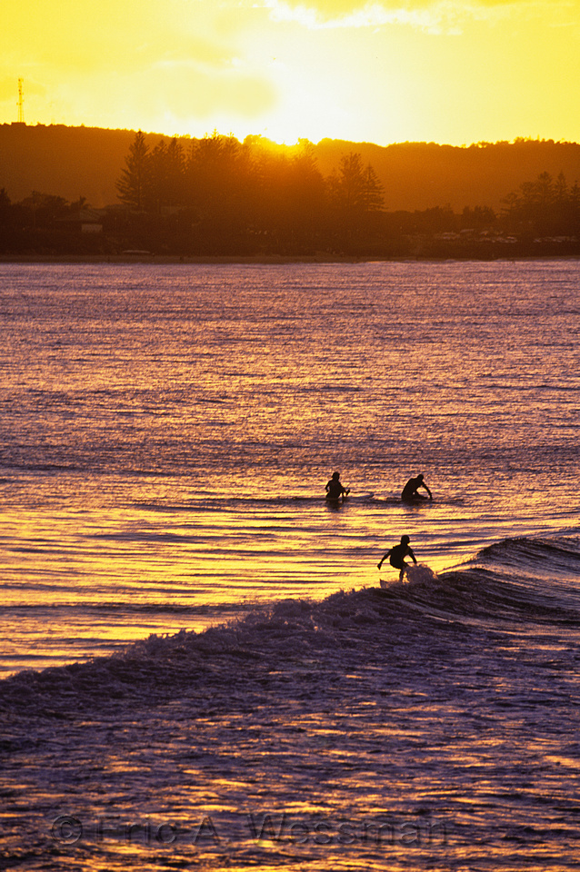 Surfers, The Pass, Byron Bay, New South Wales, Australia