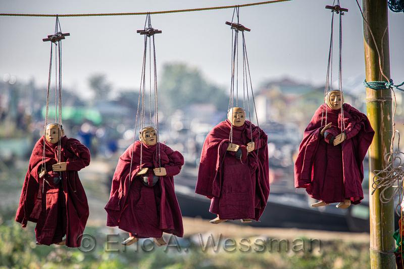 Marionette Monks
