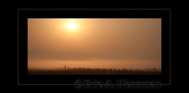 Agriculture, Asia, Ayeyarwady River, Burma, Farming, Fog, Irrawaddy, Mist, Myanmar, People, SE Asia, South Asia, Southeast Asia, Sunrise