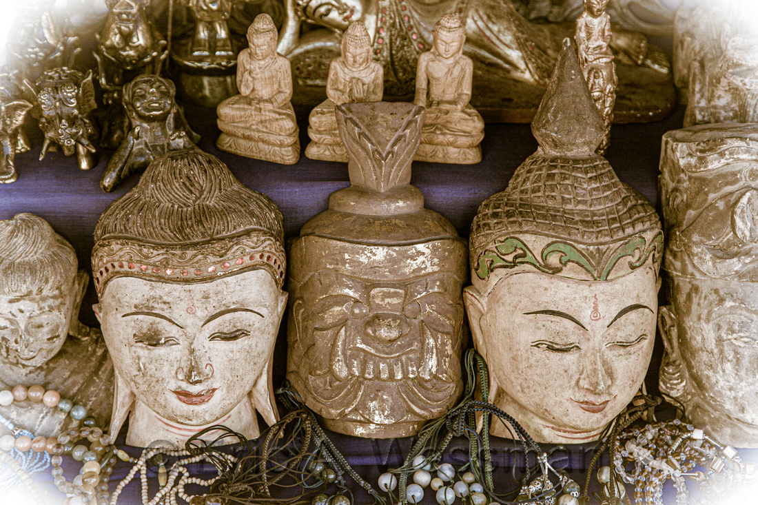 Buddha Images for Sale in Market