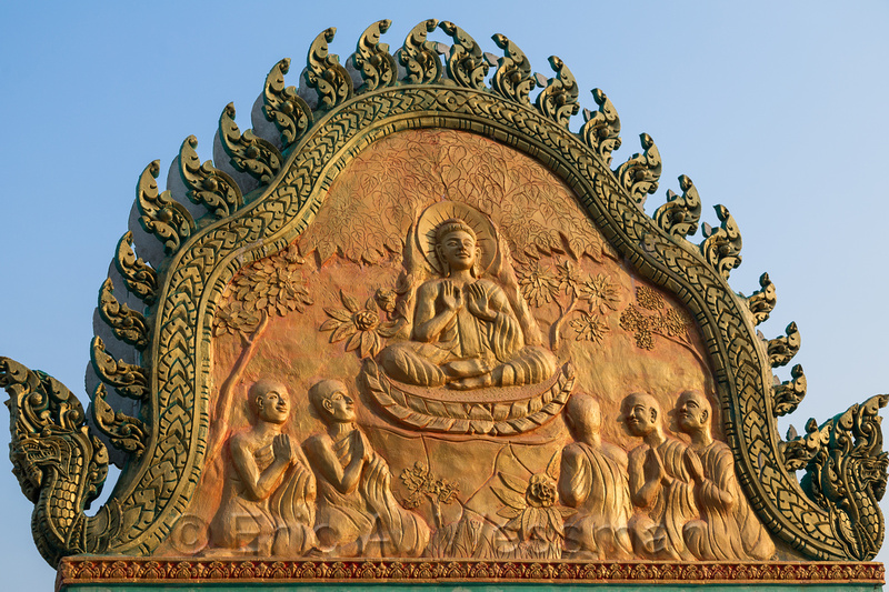 Buddha Greets the Day.