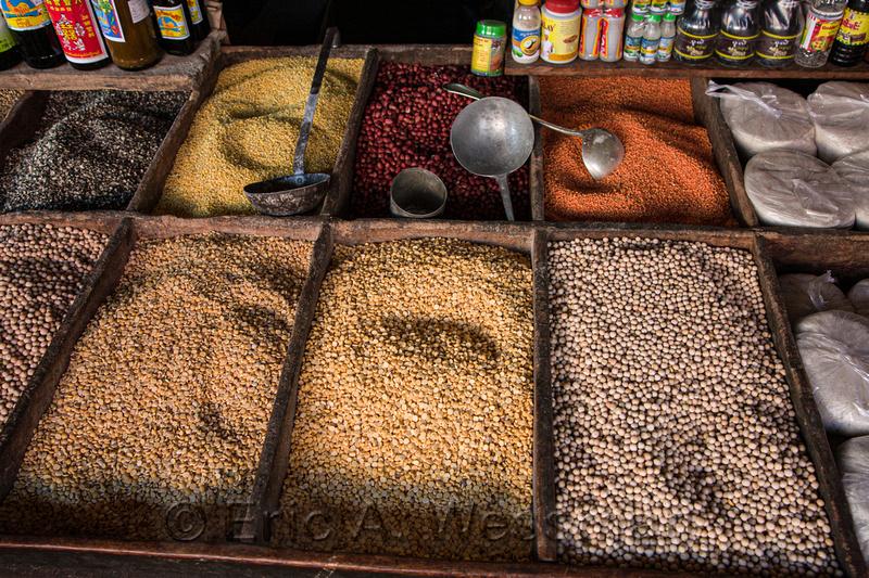 Beans in Market